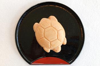 亀さん最中 160円