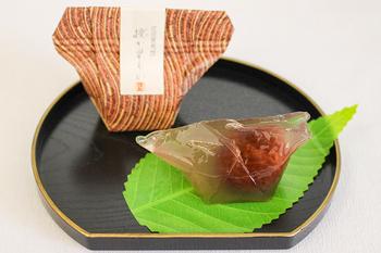 渋皮栗葛餅(授か里もの) 160円